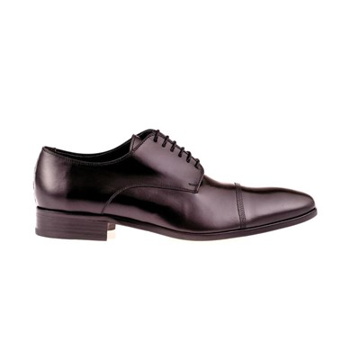 Derbies en cuir - noir