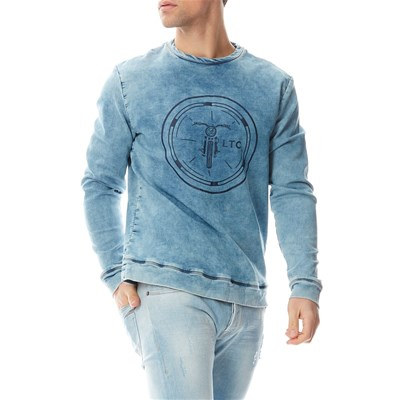 Luciano - Sweat-shirt - bleu
