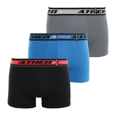 Athena Pulse - lot de 3 boxers - multicolore