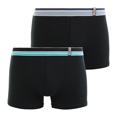 Athena Easy - lot de 2 boxers - noir