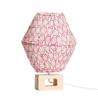 Hugo - Lampe de chevet - rouge