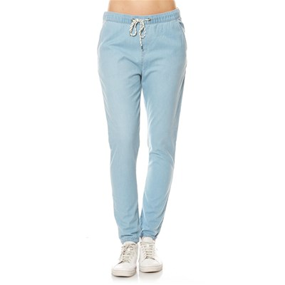 Easy Beach - Jean carrot - denim bleu