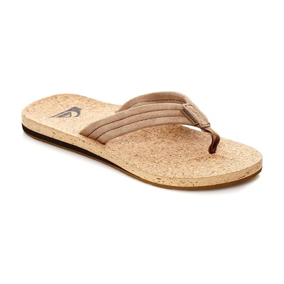 zapatillas Quiksilver Carver Cork Chanclas beige