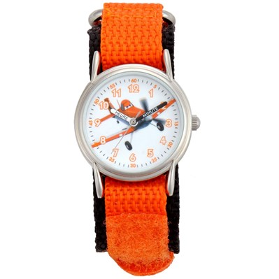 Montre analogique - orange