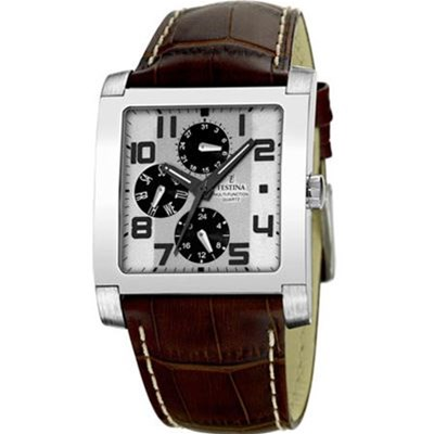 F16235-2 - Montre en cuir - marron