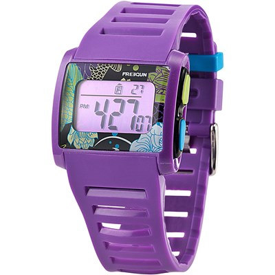 Montre digitale - violet