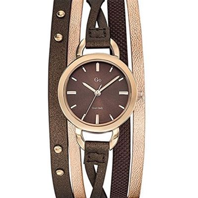 Montre en cuir - marron