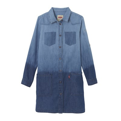 Heidi - Robe - denim bleu