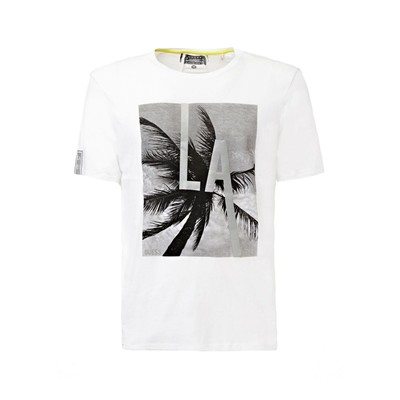 Look through - T-shirt - blanc