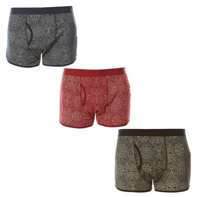 D STRUCT Under - Lot de 3 boxers - multicolore