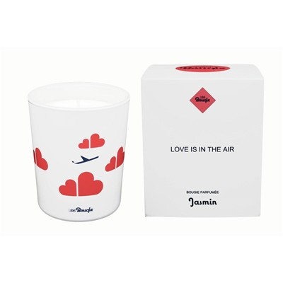 Love is In The Air - Bougie parfumée - blanc