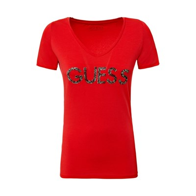 Guess Tee - T-shirt - rose