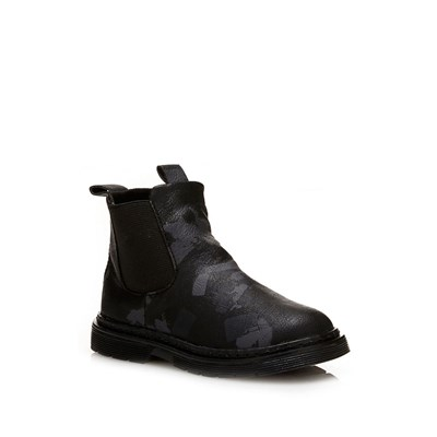 Bottines - bleu