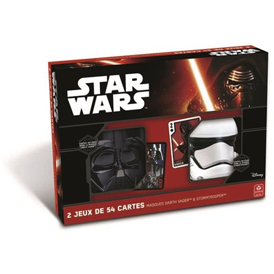 Cartamundi Coffret de 2 masques star wars - multicolore