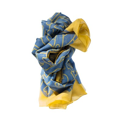 Lovely Custard - Foulard - multicolore