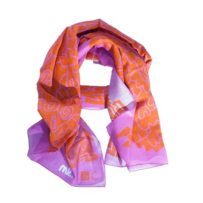 Yel Love - Foulard - rose