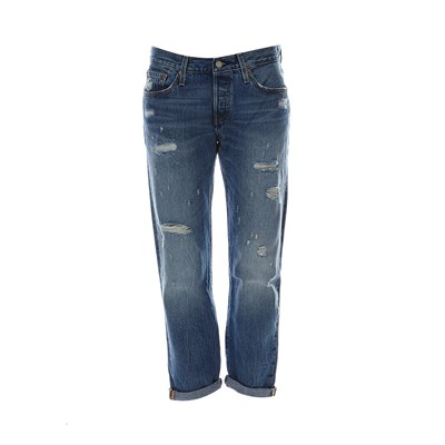 501 CT Jeans - Jean boyfriend - denim bleu