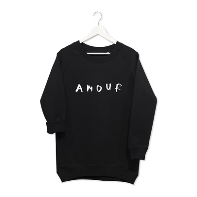 Amour - Sweat-shirt - noir
