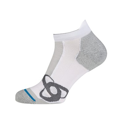 ODLO Running Low Cut - Calcetines - blanco