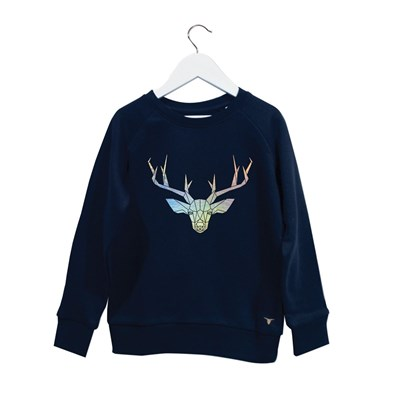 Deer - Sweat - bleu