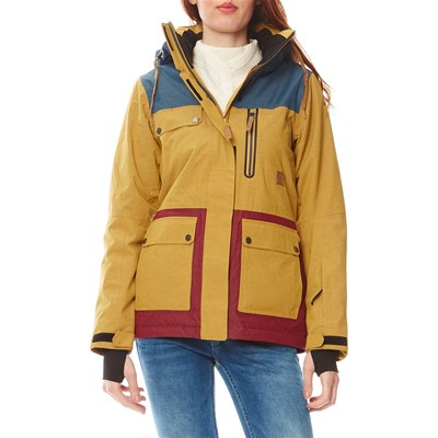ICEPEAK Kelly - Veste coupe-vent - moutarde