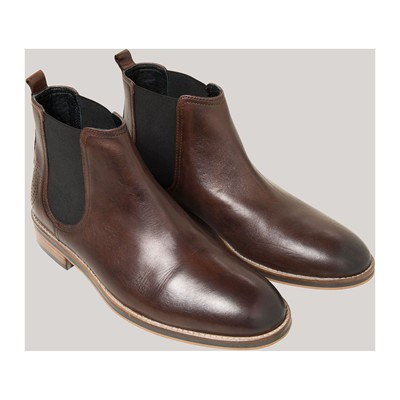 DEVRED Chelsea - Bottines en cuir - marron