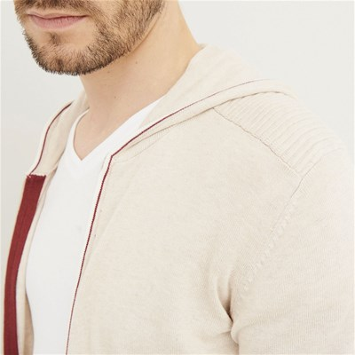 DEVRED Cardigan - marron