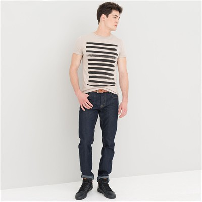DEVRED Top/tee-shirt rayé