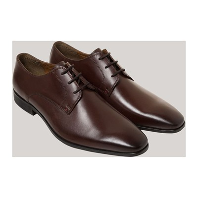 DEVRED Derbies en cuir - marron