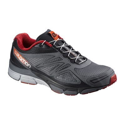 zapatillas Salomon X Scream 3D Calzado de running gris oscuro