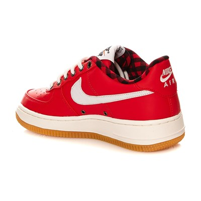 AIR FORCE 1 LV8 (GS) - Baskets - rouge