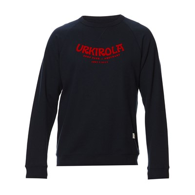 Sweat-shirt en coton - bleu marine