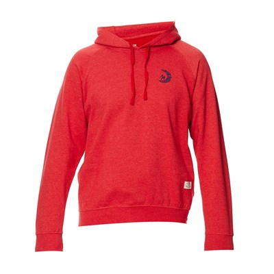 Sweat-shirt à capuche - rouge