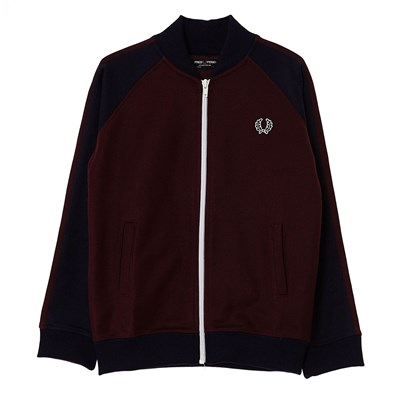 Bomber Track - Sweat-shirt zippé - acajou