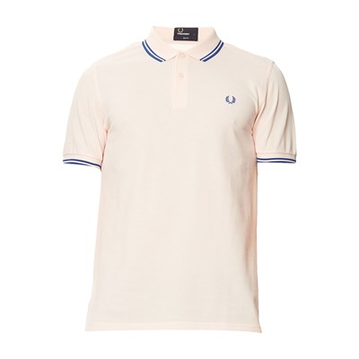 Twin Tipped - Polo en coton - rose