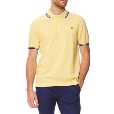 Twin Tipped - Polo en coton - jaune