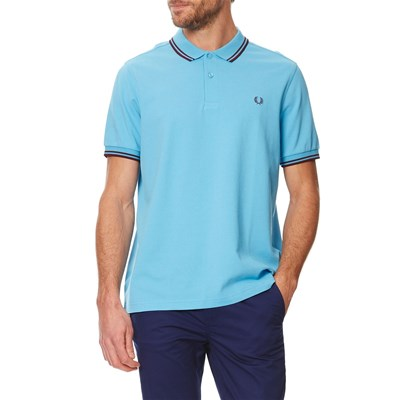 Twin Tipped - Polo en coton - bleu clair
