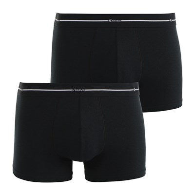 Eminence Black and white - lot de 2 boxers - noir