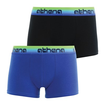 Athena Gum - lot de 2 boxers - multicolore