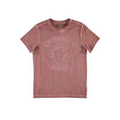 T-shirt - rose indien