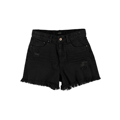 Mini short - denim noir