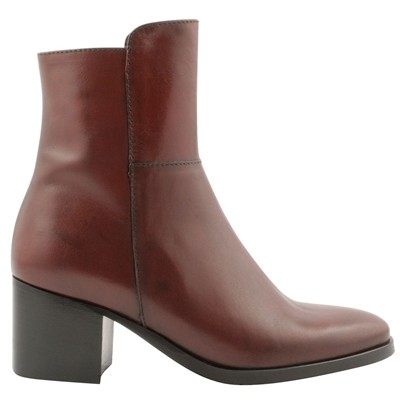 Tissia - Bottines en cuir - rouge