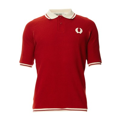 Sports Pique - Polo en coton - rouge