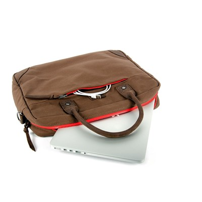 Sac ordinateur - marron