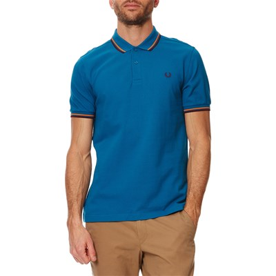 Twin Tipped - Polo en coton - bleu