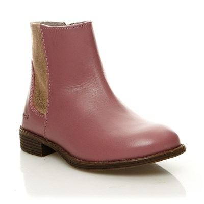 Rusty - Boots en cuir - rose