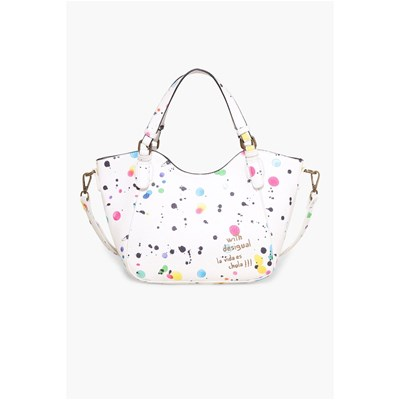 Rotterdam Mini New Splatt - Sac cabas - blanc