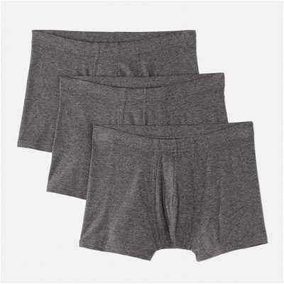Lot de 3 boxers - anthracite