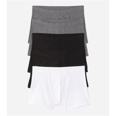 Lot de 5 boxers - anthracite