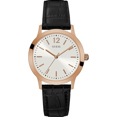 Guess Exchange - montre analogique en cuir - bicolore
